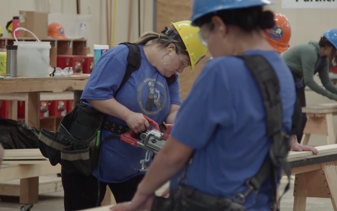 Video: Training the next generation of women in the trades | Alaska Insight | Alaska @ Work